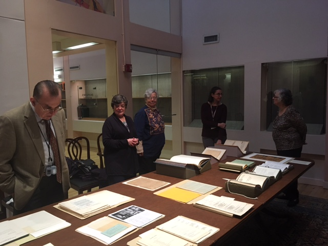 Private Exhibit of Columbia Archives at Columbia Rare Book Library