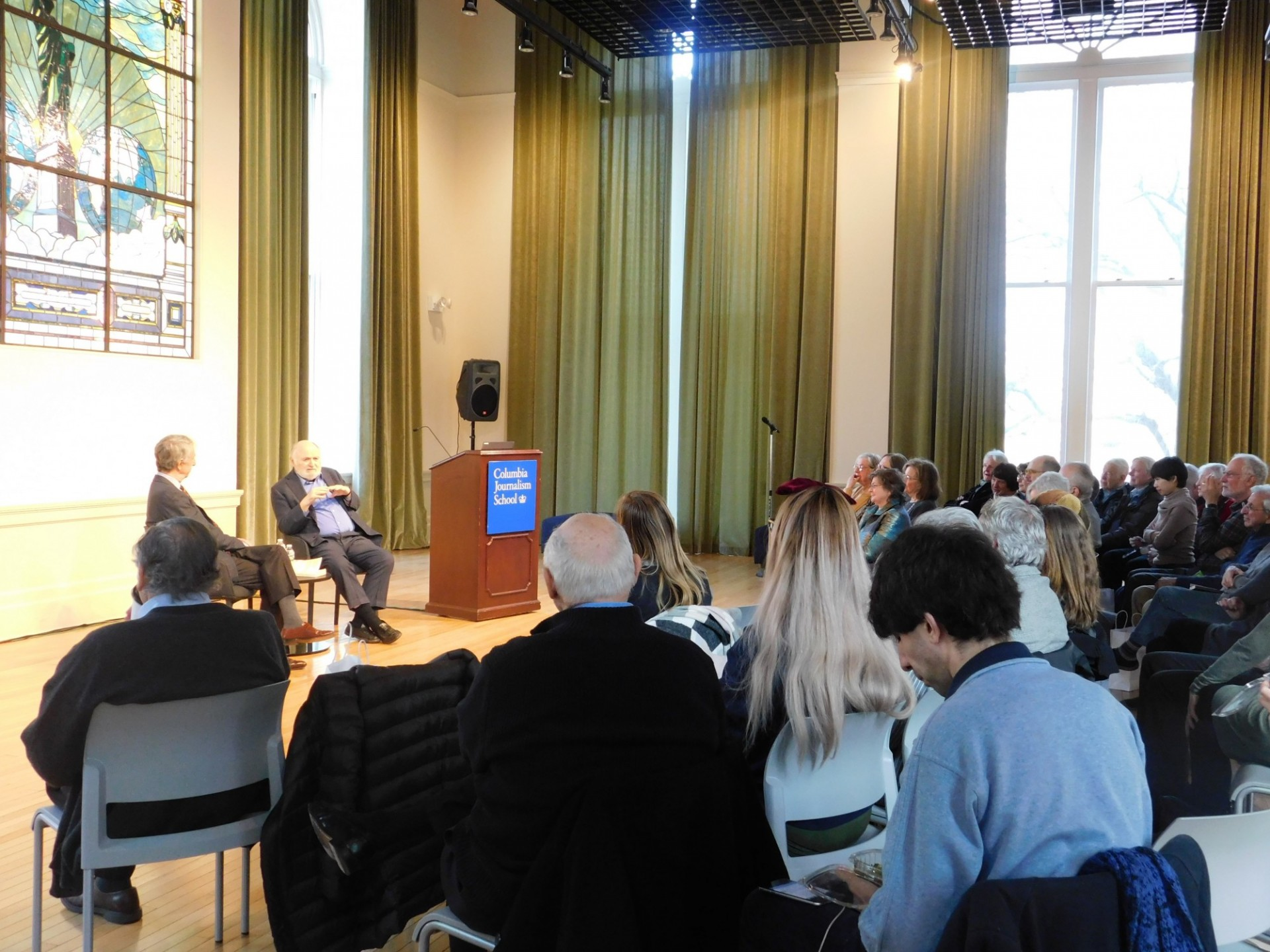 EPIC Conversation at Columbia School of Journalism: Professors Emeritus Victor Navasky and Michael Rosenthal